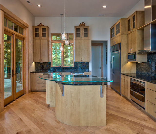 Grayhawke on Display - Contemporary - Kitchen - Other - by Glennwood Custom Builders (NC)
