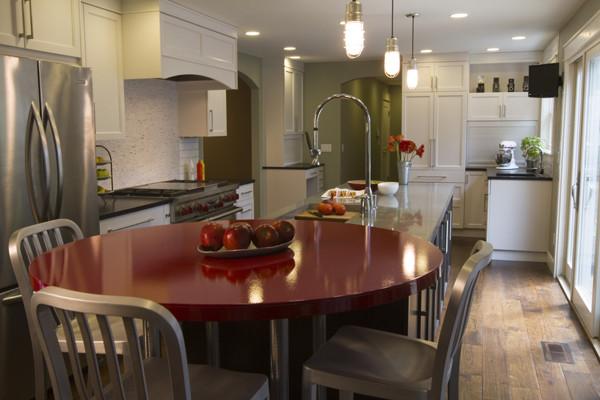Artist Home Rework contemporary-kitchen