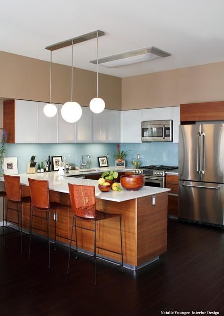 Artist Loft contemporary-kitchen
