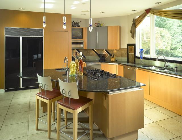Artistic Home contemporary-kitchen