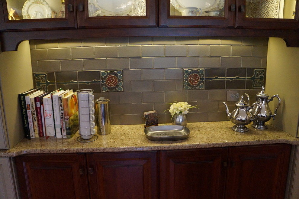 Inspiration for a mid-sized craftsman kitchen remodel in Indianapolis