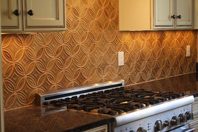 Arts and crafts contemporary kitchen backsplash modern for Arts and crafts new york