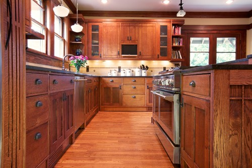 craftsman style kitchen in atlanta, ga