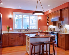 Arts and Crafts Cottage traditional-kitchen