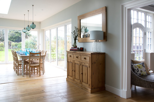 Arts crafts family home sevenoaks transitional kitchen kent by smartstyle interiors Kitchen design of sevenoaks