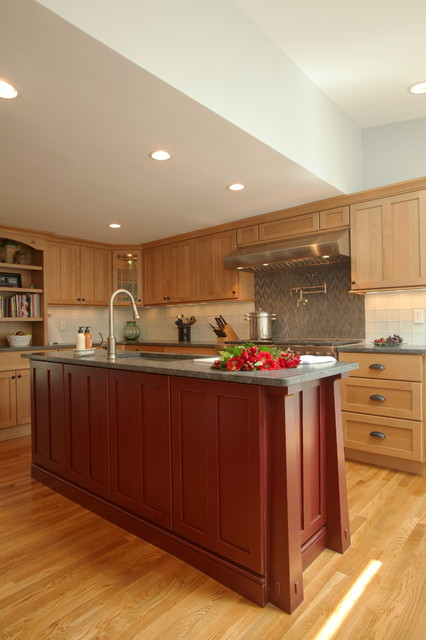 arts and crafts kitchen traditional kitchen other creative kitchens amp baths creating custom kitchens