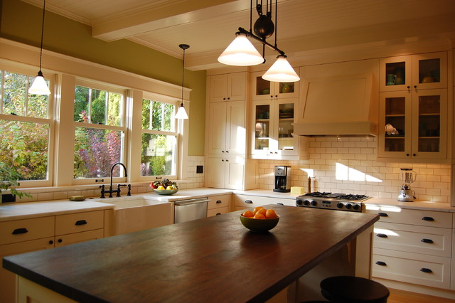 arts and crafts kitchen craftsman kitchen portland by craftsman design and renovation