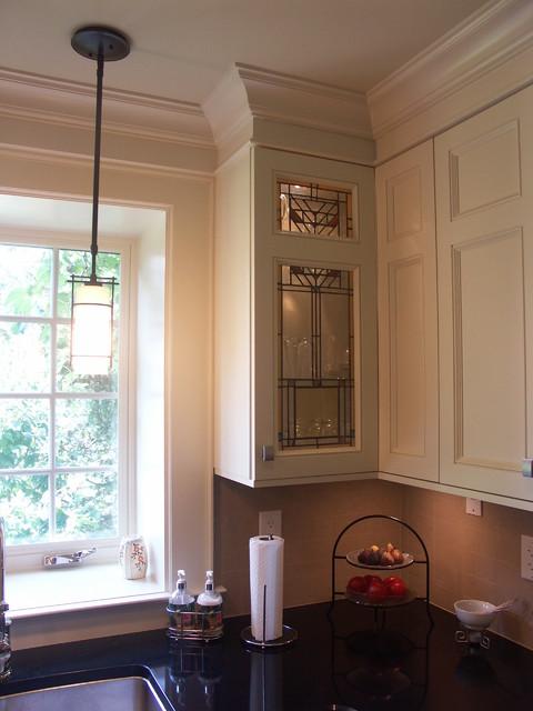 Arts & Crafts Kitchen Design traditional-kitchen