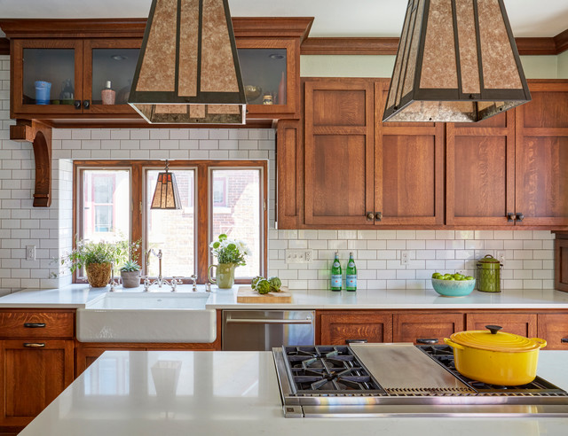 The Making Of An Arts And Crafts Kitchen