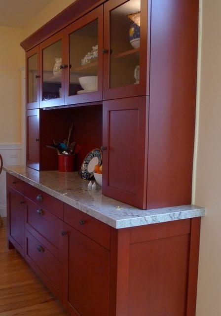 Arts Crafts Kitchen W Hutch Designed By John Keplar