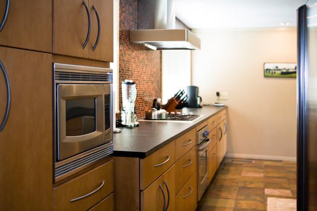 Arts & Crafts Redo contemporary-kitchen