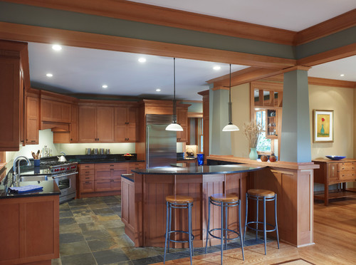 Traditional Kitchen design by Dc Metro Architect Richard Leggin