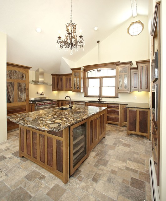 Arts and Crafts style kitchen traditional-kitchen