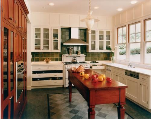 I love the narrow kitchen island! Who makes it??