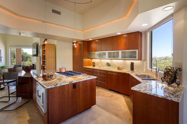 Artsy update contemporary kitchen other by c k for Artsy kitchen ideas