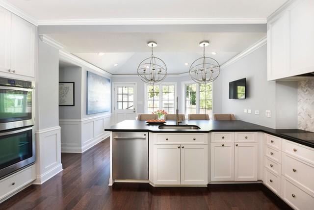 Ash transitional-kitchen