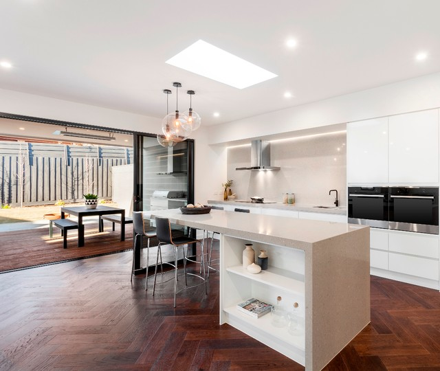 Ash Grey Cabinets Kitchen