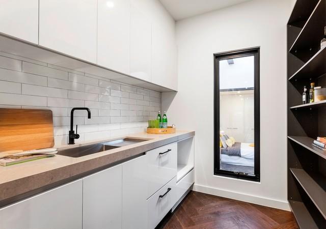 Ash Grey Kitchen Inspiration Contemporary Kitchen