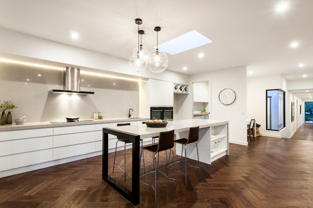 Ash Grey Kitchen Inspiration Contemporary Kitchen