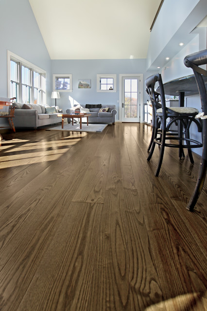 Ash Prefinished Wide Plank Flooring Walpole New