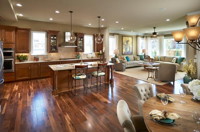 Asheville Kitchen - Traditional - Kitchen - Denver - by ...