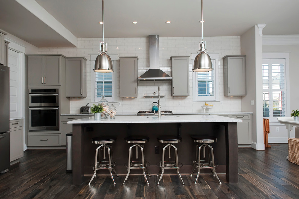 Asheville Kitchen - Transitional - Kitchen - Denver - by ...