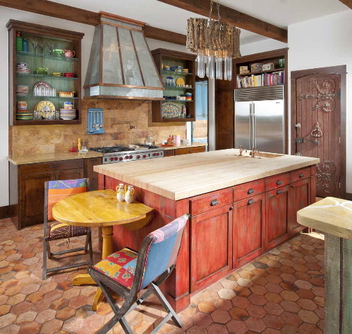 Ashley Astleford eclectic kitchen