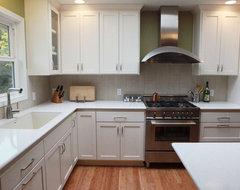 Contemporary White Kitchen contemporary-kitchen