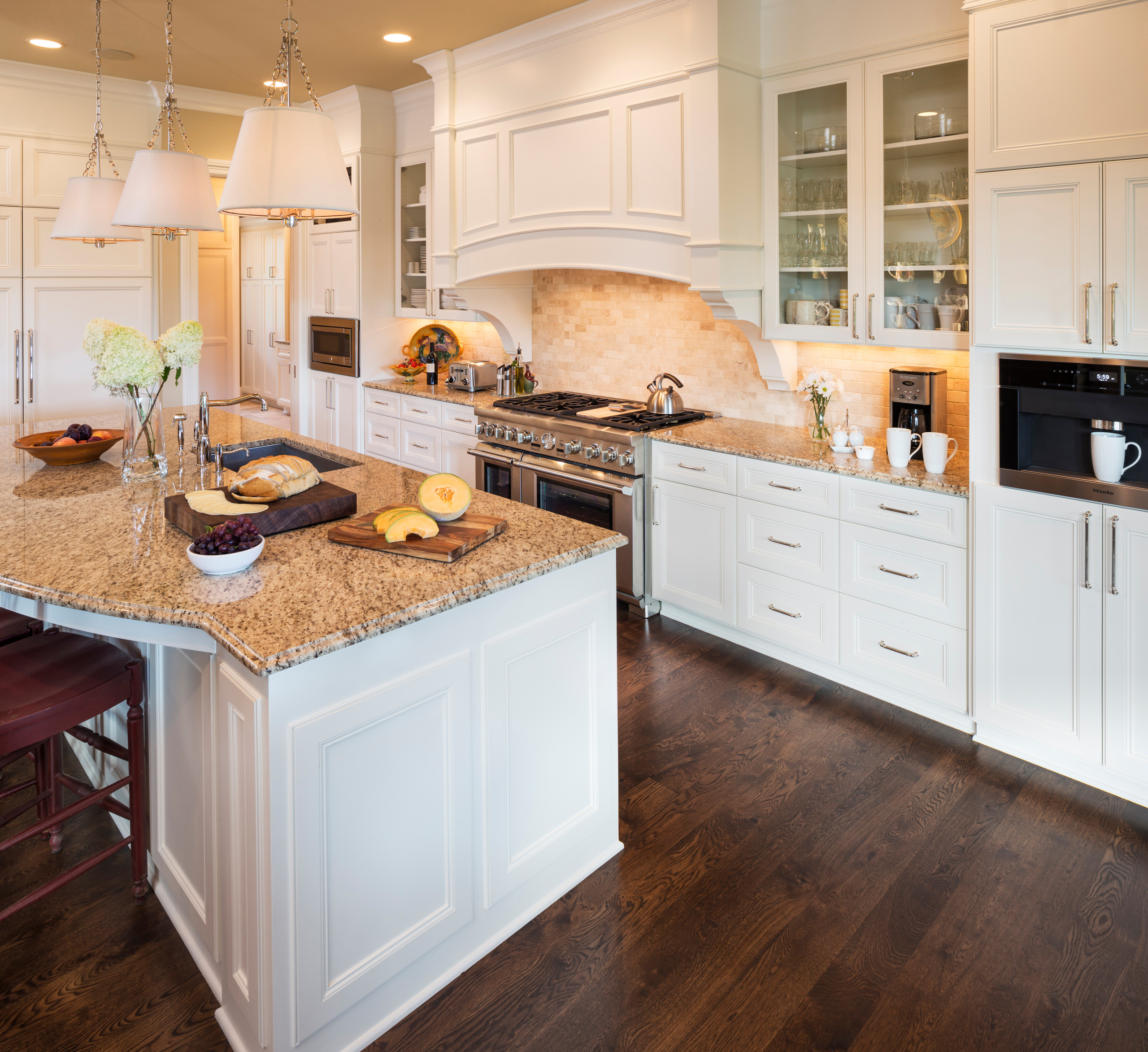75 Beautiful Asian Kitchen With Stone Tile Backsplash Pictures Ideas October 2020 Houzz