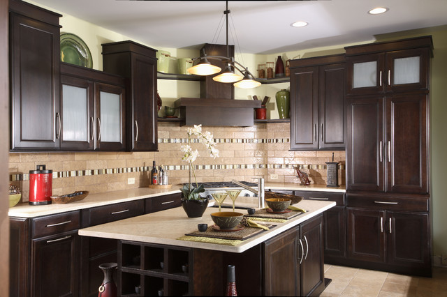 Asian Inspired Kitchen - Asian - Kitchen - Chicago - by Normandy Remodeling