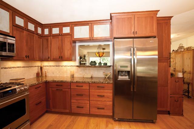Asian inspired kitchen asian kitchen san francisco for Asian inspired kitchen cabinets