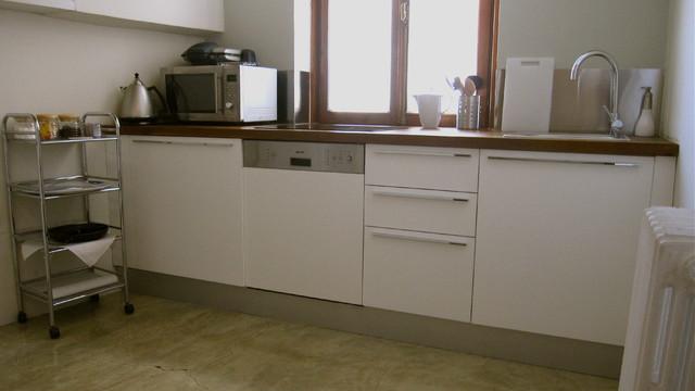 aslan!place apartment contemporary-kitchen