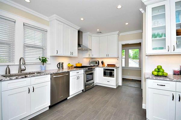 aspen white shaker 10x10 kitchen cabinets