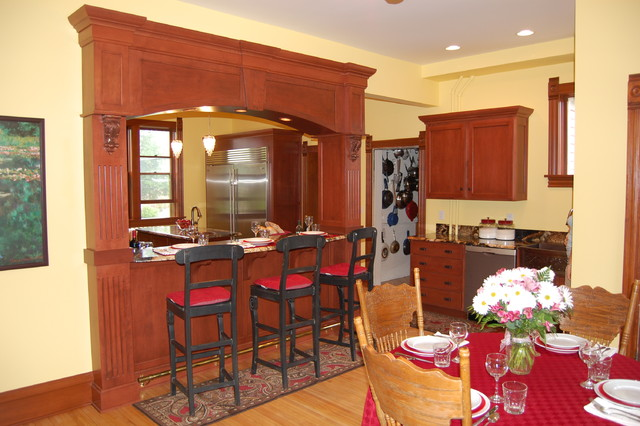 Assorted homes traditional-kitchen