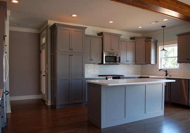 Aster craftsman kitchen other by mccoy homes inc for Aster kitchen cabinets