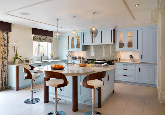 Aston   Art Deco Inspiration. transitional-kitchen