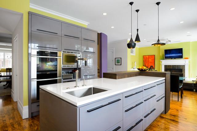 Astro Design's Contemporary Kitchen Renovation contemporary-kitchen