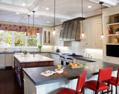 Atherton, California Luxury Home by Markay Johnson Construction traditional-kitchen