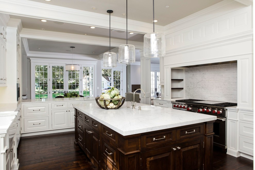 Atherton Home - Kitchen, R.J. Riggs & Associates Furniture Grade Woodwork