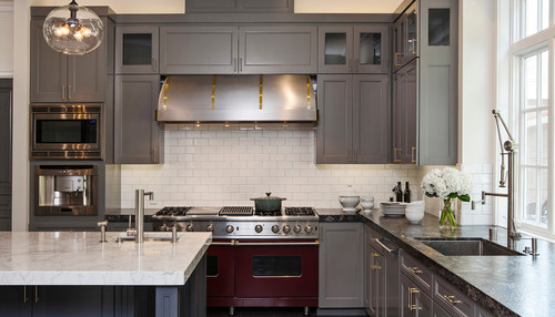 Enhance Your Kitchen With Colorful Cabinets TMS Architects