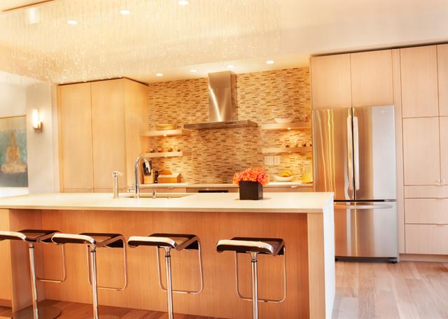 Atlanta John 39 S Creek Interior Asian Inspired Contemporary Kitchen Other Metro By