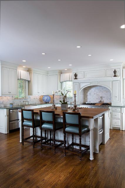 Atlanta residence traditional-kitchen
