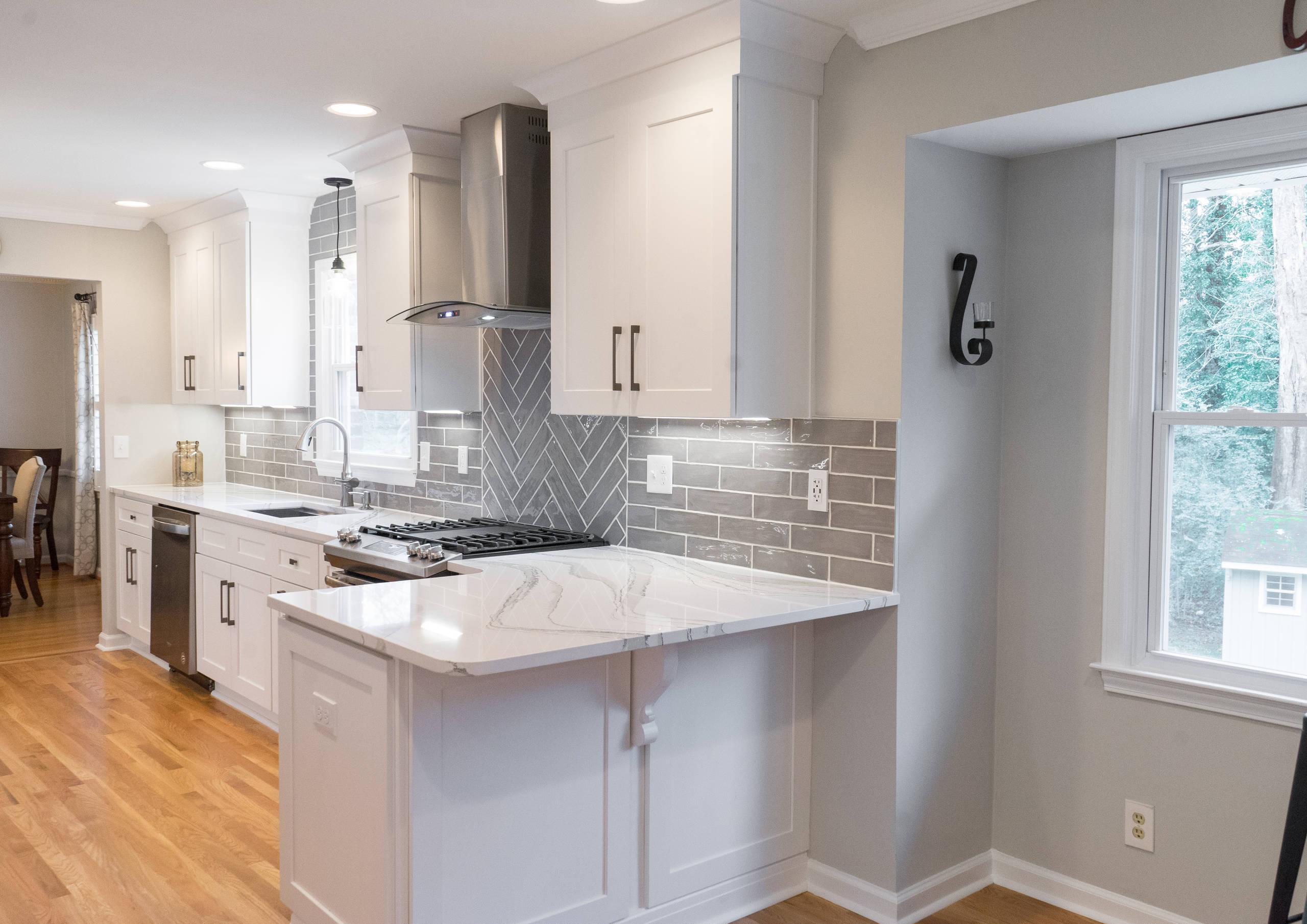 Atlanta Transitional Kitchen Remodel
