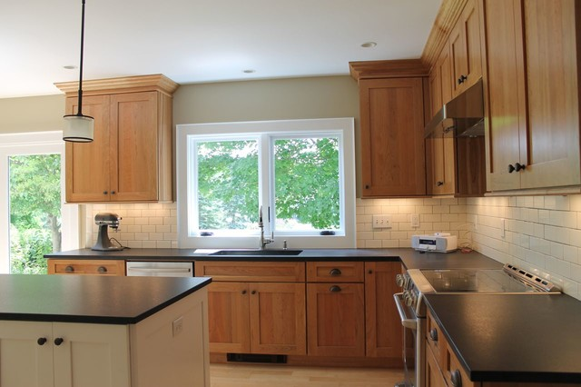 Atlantic Design Center Div Of Eldredge Lumber Traditional Kitchen Portland Maine By