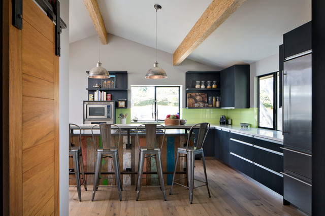 Atomic Ranch Transitional Kitchen San Diego By Kw