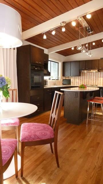 Atomic Ranch Renovation Modern Kitchen Atlanta By Brian Patterson Designs Inc