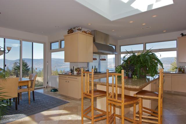 Atrium Modern Modern Kitchen Other By Hewitt Designs