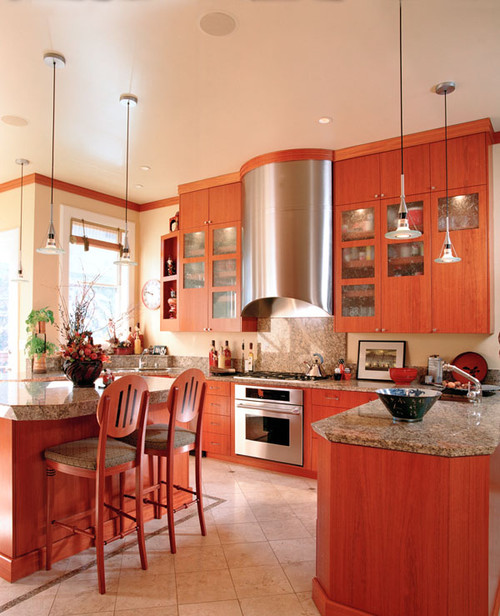 traditional kitchen Beauty Meets Function: Range Hoods