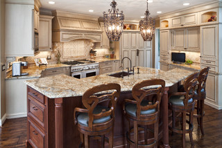 Don Justice Cabinet Makers - Traditional - Kitchen - cincinnati - by Don Justice Cabinet Makers