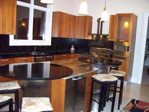 AHB Custom Home Builders - Audubon Estates Residence #20 contemporary kitchen